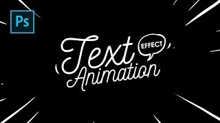Cara Buat Lettering Text Effect Animation dg Photoshop - Photoshop Tutorial Indonesia