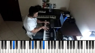 Smile/Better is One Day - Jonathan Nelson PIANO TUTORIAL