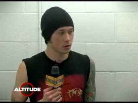 Trivium's matt heafy taks how to get backstage