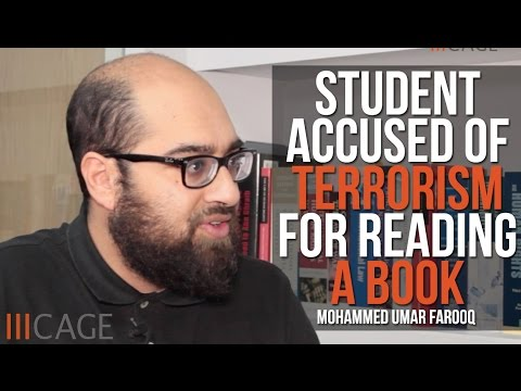 Mohammed Umar Farooq Interview: The student accused of terrorism for reading a book