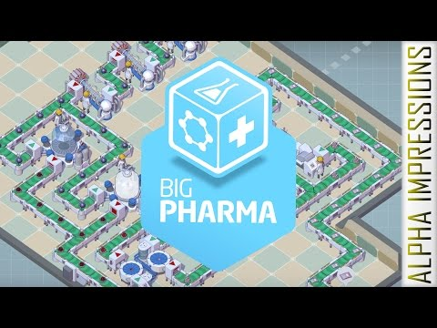 Big Pharma [Evil Drugs Company Sim] - Beta Impressions