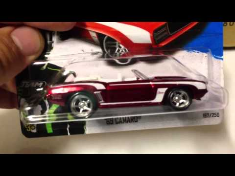 Hot Wheels Newest Super Treasure hunts of 2013!