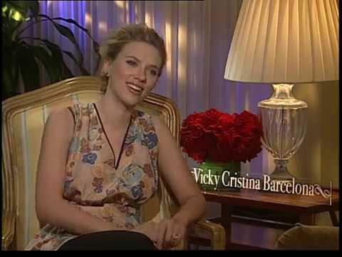Scarlett Johansson interview for Vicky Cristina Barcelona