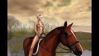 Boobie Jiggle bento horse Second Life