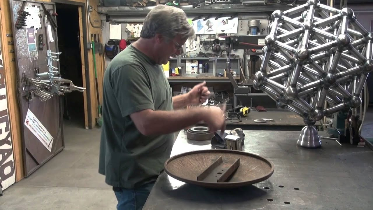 How To Make A Sculpture Or Anything Else Spin In The
