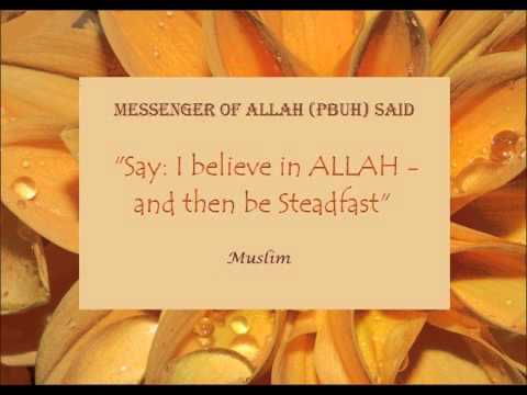 Bismillah In The Name Of Allah! Believe In Allah! Hq! video