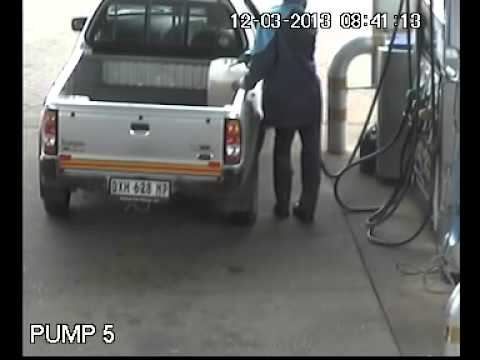 Man drives off without paying for petrol.