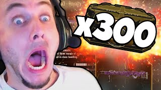x300 ADVANCED SUPPLY DROPS! (INSANE OPENING and ROYALTY ELITE GUNS!)