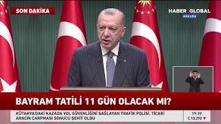 Cumhurbaşkanı Erdoğan Kabine Toplantısı Sonrası Önemli Açıklamalarda Bulundu