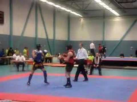 Wushu sanshou knockout. Image 1