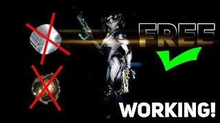 Warframe - How to get Mirage Prime (No Farming) (No Platinum) (EASY) (0 Forma)