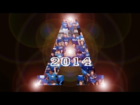 Atlee High School Football Entrance - 2014