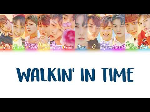 Walkin' In Time - The Boyz COLOR-CODED LYRICS [HAN/ROM/ENG]
