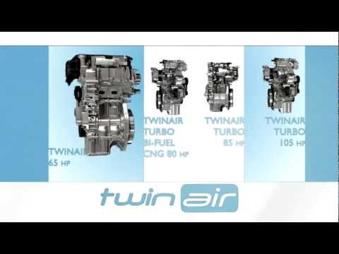 2013 Fiat Twin Air engine - hybrid tech teased