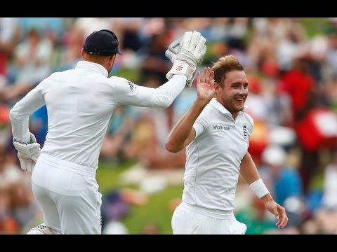 Stuart Broad takes 6/17 against South Africa
