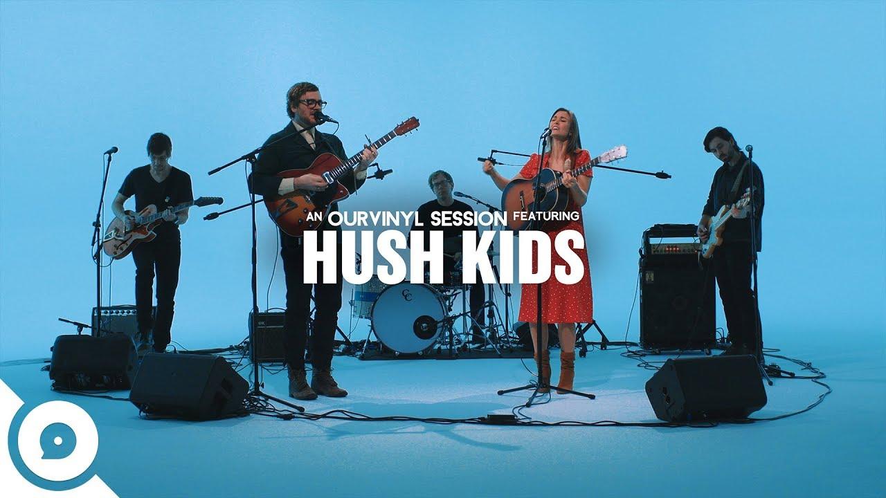 "Hush Kids - 「OurVinyl Sessions」にて""Talking To Myself""を披露 ライブセッション映像を公開 thm Music info Clip"