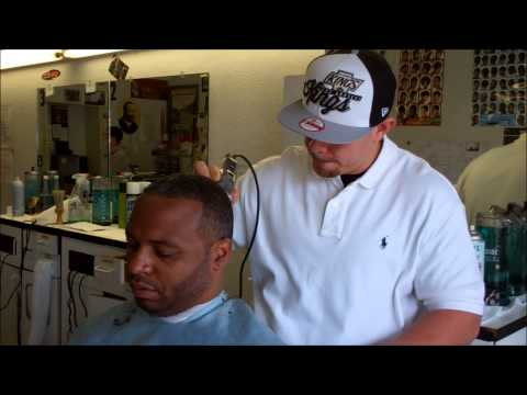 VICK THE BARBER VISITS HIS OLD BARBER COLLEGE WITH @CAKENISRANDY