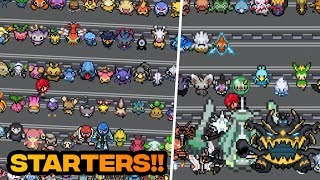 POKEMON FAN GAME WITH ALL POKEMONS AS STARTER POKEMON!? - WITH DOWNLOAD LINK!