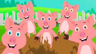 Five Little Piggies Rhyme