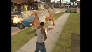 Invasion Alienigena parte 3 GTA San Andreas