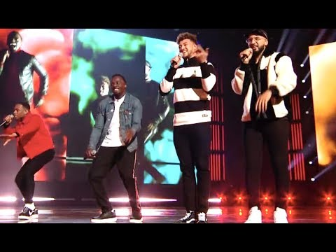 Rak-Su Rocks The Stage With George Michael Hit | Live Show | The X Factor UK 2017