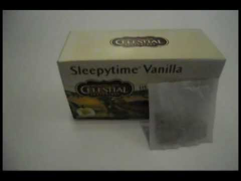 Tea Review: Celestial Seasonings Sleepytime Vanilla Herbal Tea