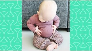 Babies Belly Roll -  Funniest Baby Videos