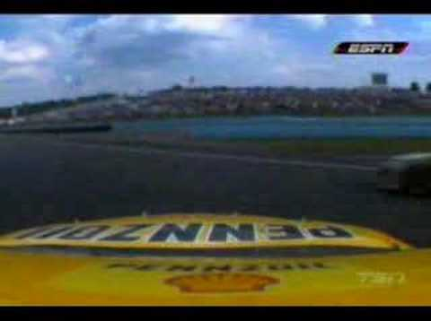 Kevin Harvick VS Juan Pablo Montoya Video