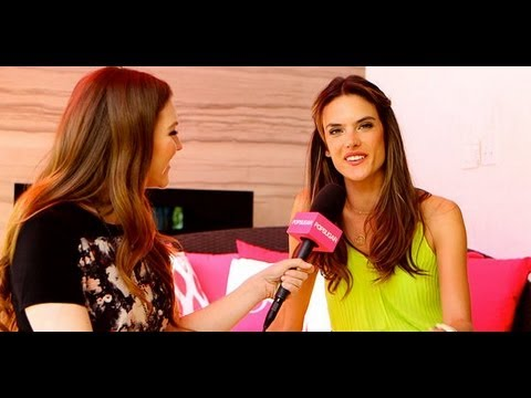 Alessandra Ambrosio Talks Dancing in Ibiza and Music-Fest Style | Victoria's Secret Interview