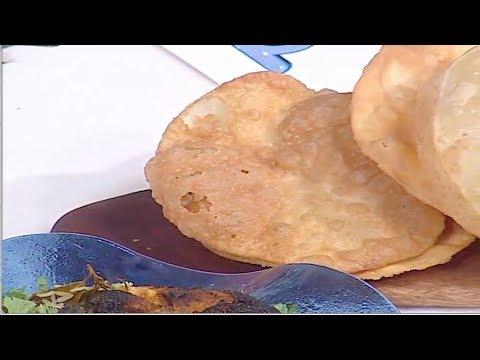 برياني الدجاج- بيتر شيكن - خبز البوري الهندي #غفران_كيالي #هيك_نطبخ #فوود