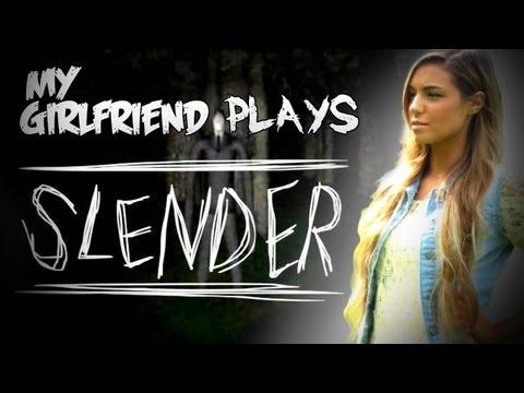 SLENDER - MY GIRLFRIEND PLAYS! - SLENDER - Part 6 - Let