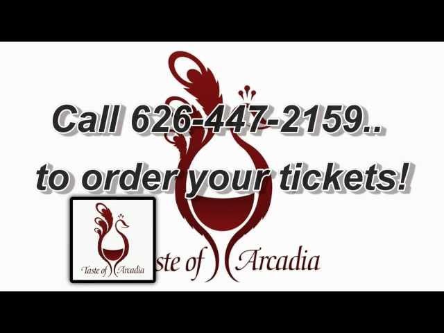 2013 Taste of Arcadia September 23, 2013 at the LA County Arboretum Botanic Garden
