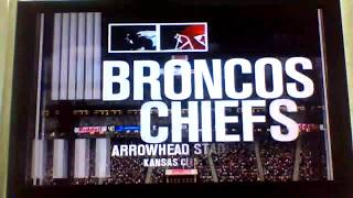 ESPN NFL 2K5 Broncos Custom Season Game 9:Denver Broncos v. Kansas City Chiefs