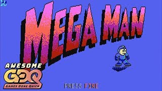 Mega Man (Dos) by Lizstar in 10:50 - AGDQ2019