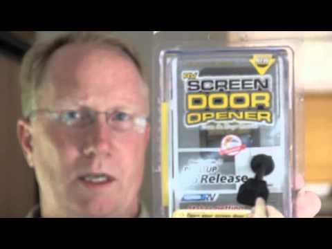 Sleepy Joe And Rv Screen Door Opener Youtube