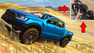 Forza Horizon 4 2019 Ford Ranger Raptor Off-Road | Logitech g920 Gameplay 4K | Racer V8