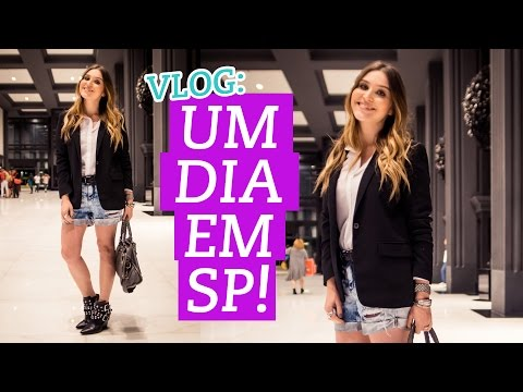 Vlog: viagem a SP, workshop Youtube e Spa Dios