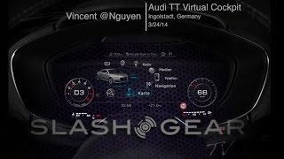 Exclusive hands-on: 2015 Audi TT Virtual Cockpit