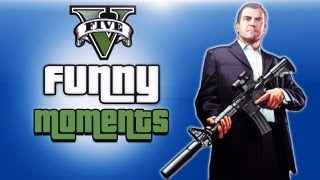 GTA 5 Funny Moments Ep. 3 (Dumb Cops, Wall Glitch, Skyfall Cheat)