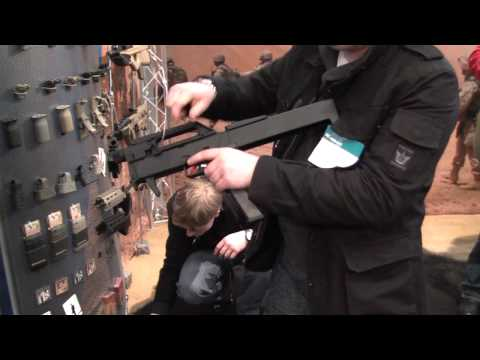 Magpul PTS FPG at the IWA show 2011