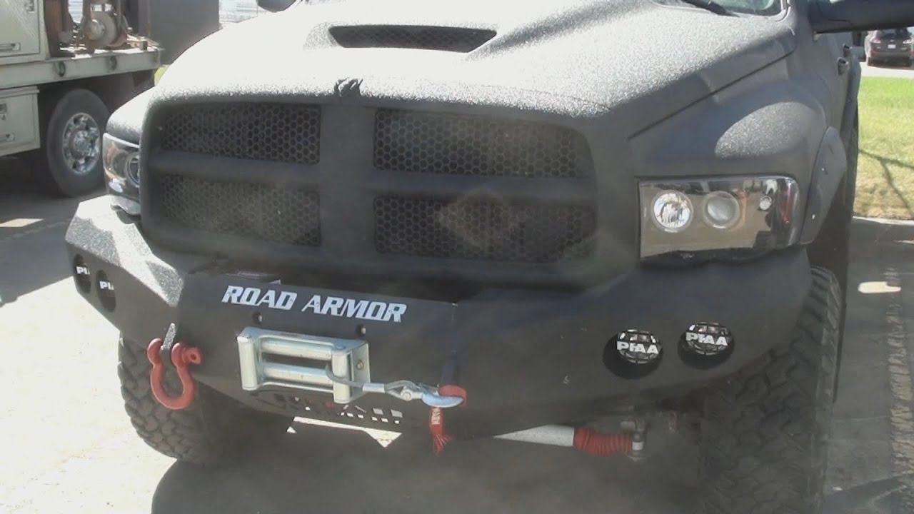 Dodge Ram 3500 Complete Rhino Lining Entire Truck
