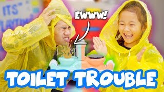 Toilet Trouble with DIRTY Toilet Water!