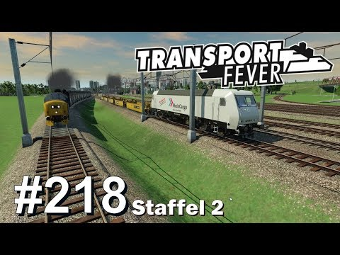 TRANSPORT FEVER S2/#218: Neue Gleise für Weisswasser [Let's Play][Gameplay][German][Deutsch]