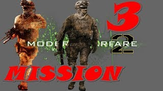 Call of Duty Modern Warfare 2 Gameplay Walkthrough | Mission 3 | Cliffhanger