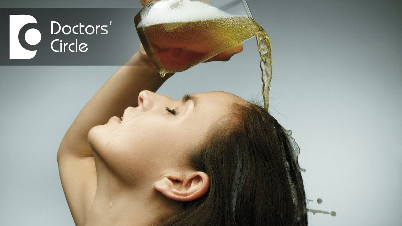 Маска для волос с оливковым маслом и пивом