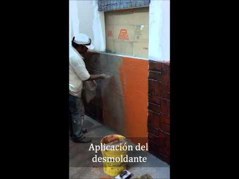 Proceso Muros Estampados