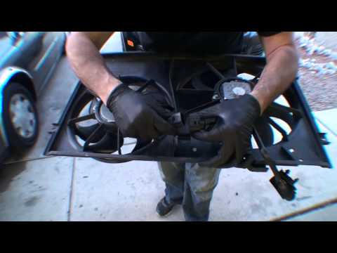 2006 VW Jetta TDI Accessory Fan Replacement