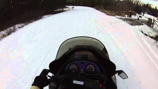 Arctic cat cougar 550 vs 990ft 80+mph