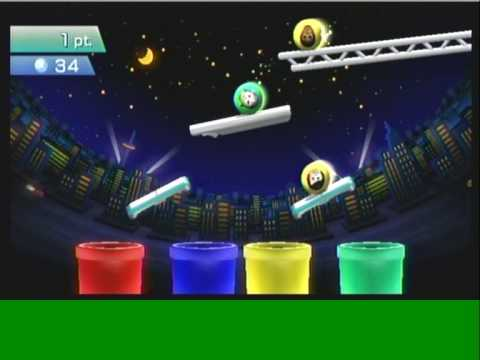 Wii Workouts - Wii Fit Plus - Tilt City