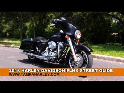 New 2013 Harley-Davidson FLHX Street Glide Motorcycle for sale
